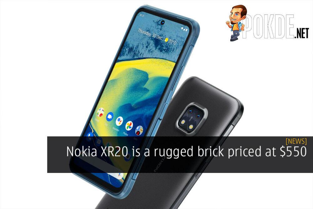 Nokia XR20 brick $550 cover