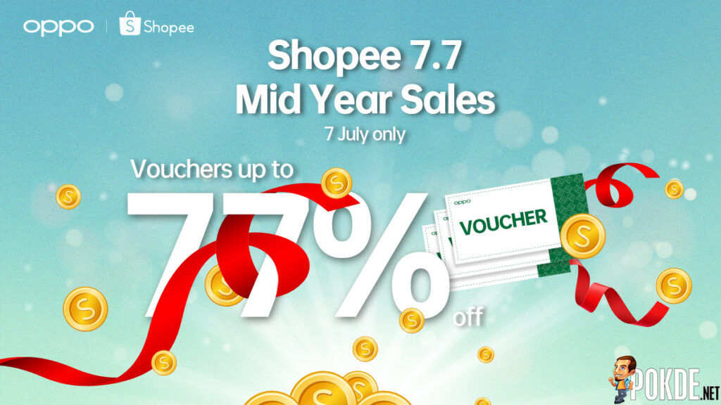 OPPO 7.7 Shopee Sale Returns With Vouchers Of Up To 77% Off 21