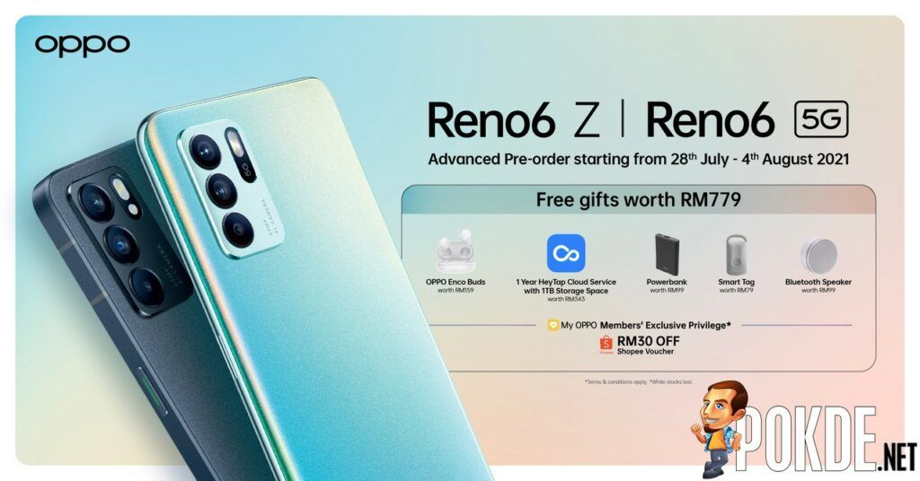 OPPO Reno6 Series Advanced Pre-Orders Are Now Open With Free Gifts Worth RM779 21