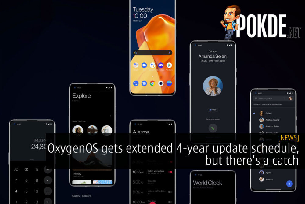 OxygenOS update schedule coloros cover