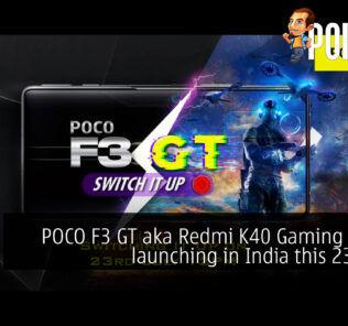 POCO F3 GT India Redmi K40 Gaming Edition cover
