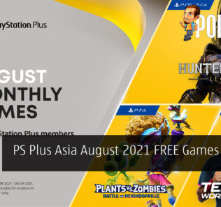 PS Plus Asia August 2021 cover