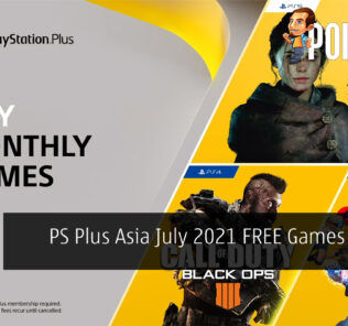 PS Plus Asia July 2021 cover