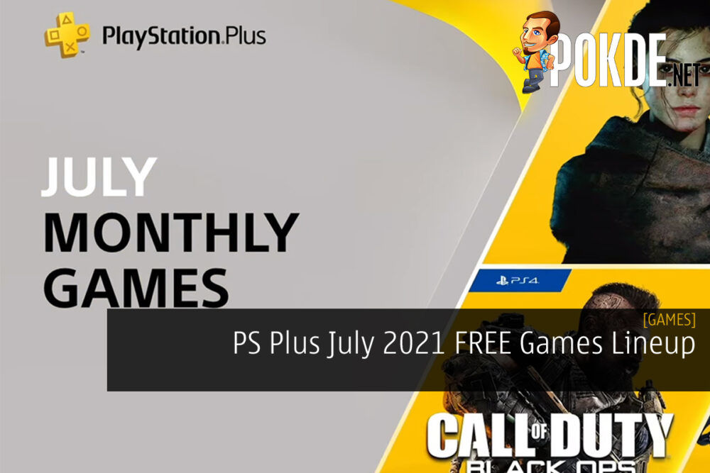 PS Plus July 2021 cover