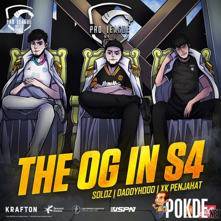 PUBG MOBILE PRO LEAGUE MY/SG Welcomes KOLs To Join Top 3 Teams in Season 4 22