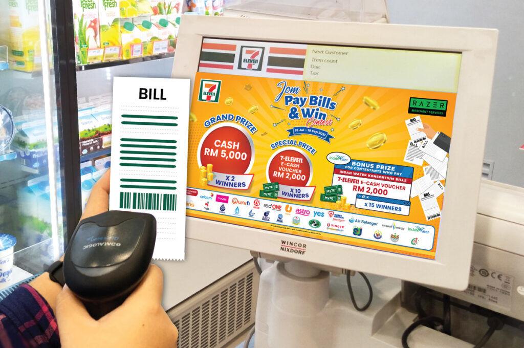 7-Eleven Jom Pay Bills & Win