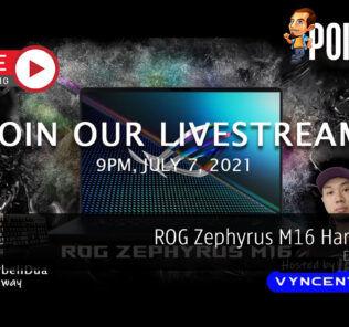 PokdeLIVE 113 — ROG Zephyrus M16 Hands-on! 23