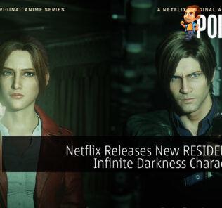 RESIDENT EVIL Infinite Darkness Character Art cover