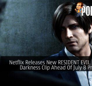 RESIDENT EVIL Infinite Darkness clip cover