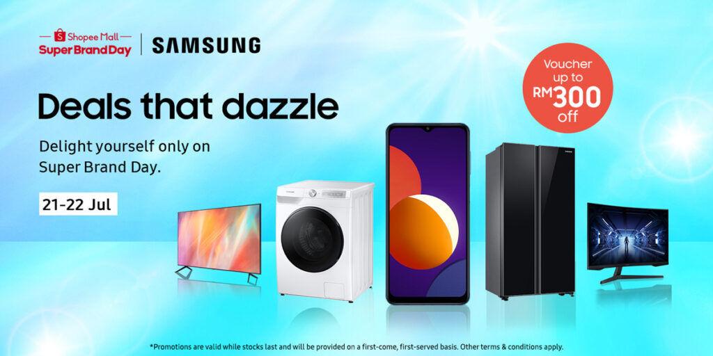Samsung Shopee Super Brand Day 2021