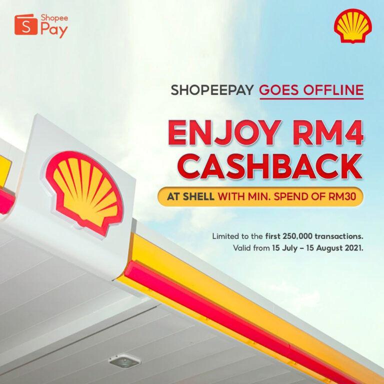 ShopeePay Shell petrol