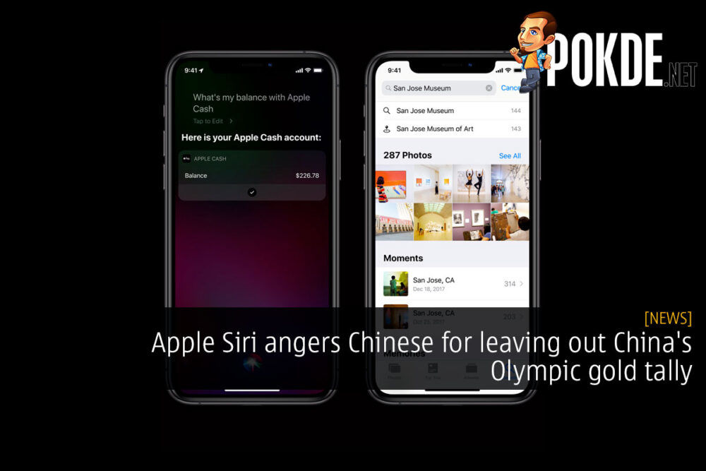 Apple Siri angers Chinese for leaving out China's Olympic gold tally 21