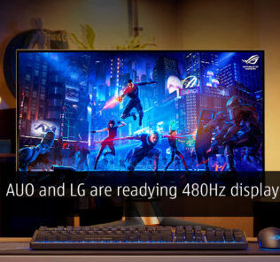 auo and lg 480hz cover