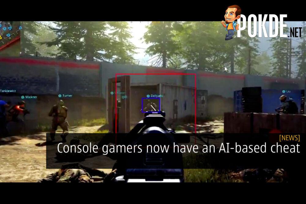 console gamer ai cheat cover