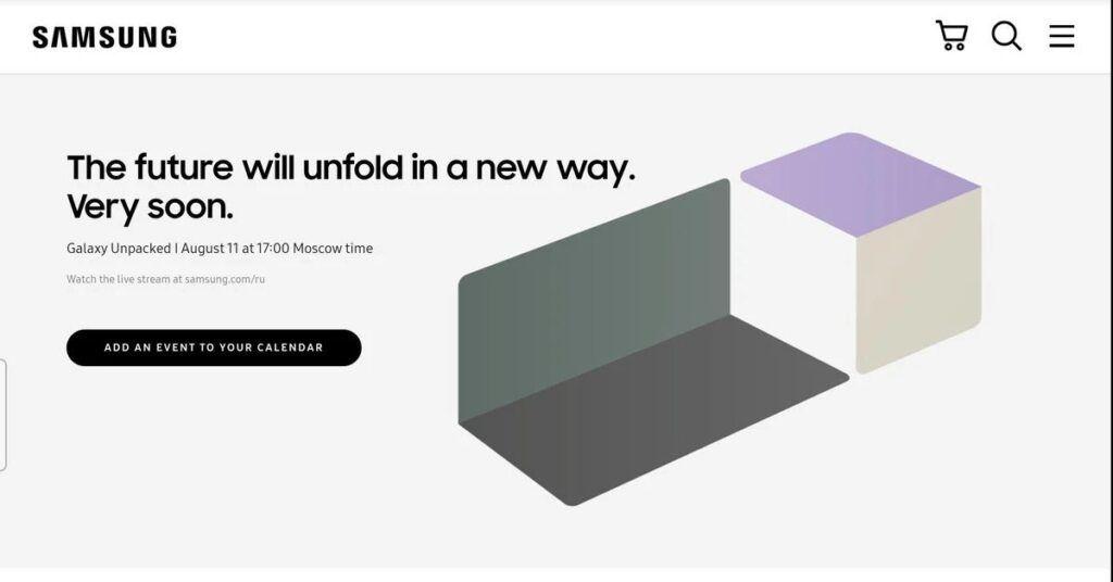 Samsung Galaxy Z Fold3 and Z Flip3 Launch Date