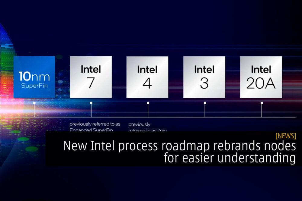 New Intel process roadmap rebrands nodes for easier understanding 20