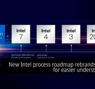 New Intel process roadmap rebrands nodes for easier understanding 18