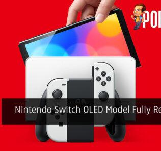Nintendo Switch OLED Model Fully Revealed
