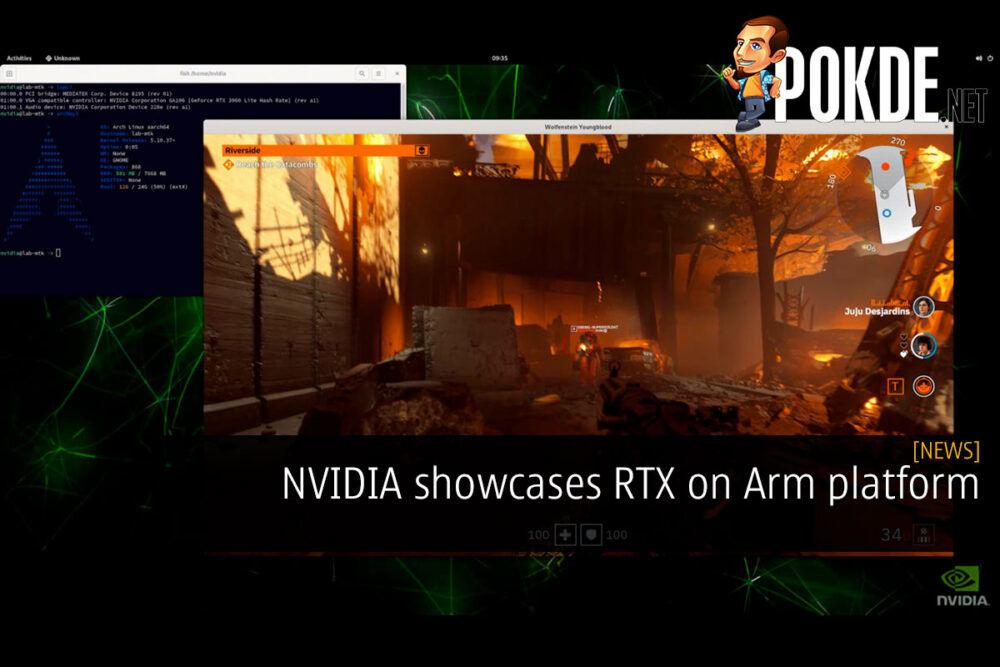 nvidia rtx on arm cover