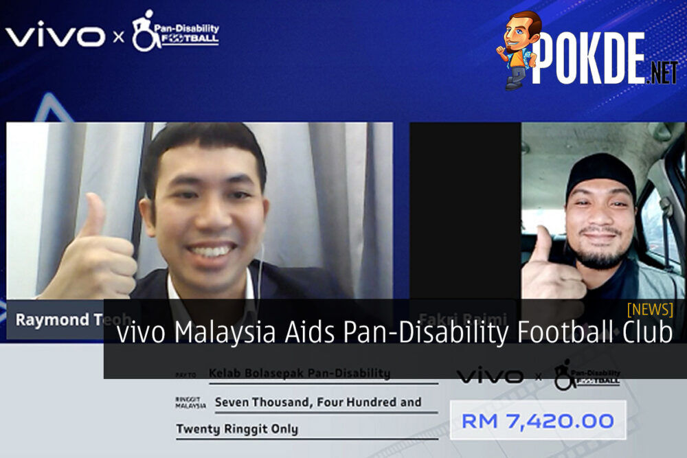 vivo Malaysia Aids Pan-Disability Football Club 22