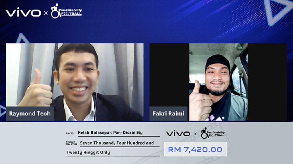vivo Malaysia pan-disability football club