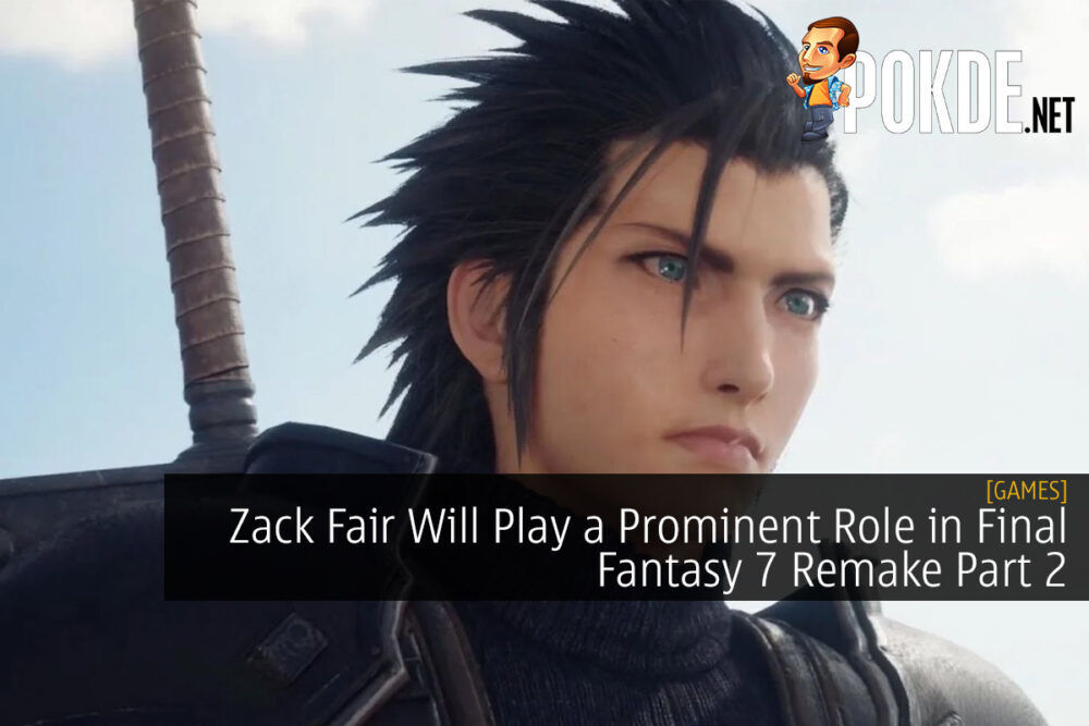 Zack Fair Will Play a Prominent Role in Final Fantasy 7 Remake Part 2
