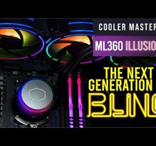 CM MasterLiquid ML360 Illusion Review — the next generation of bling 25