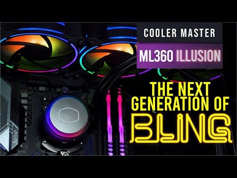 CM MasterLiquid ML360 Illusion Review — the next generation of bling 20