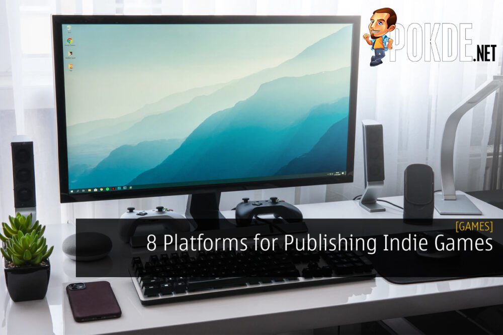 8 Platforms For Indie Games cover