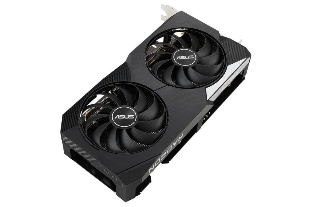 ASUS DUAL Radeon RX 6600 XT OC Edition