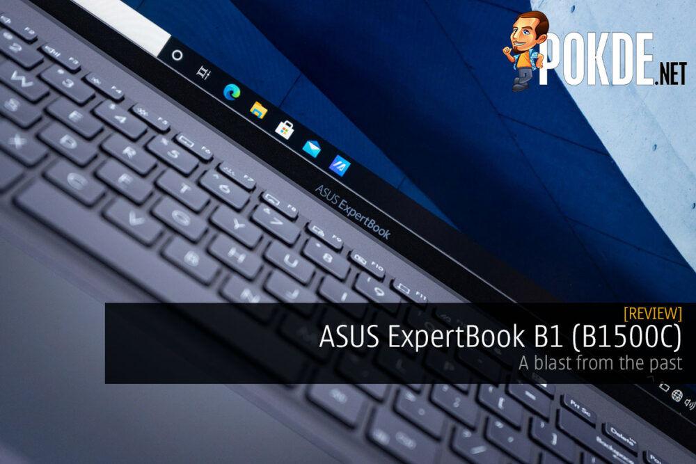 ASUS ExpertBook B1 review cover