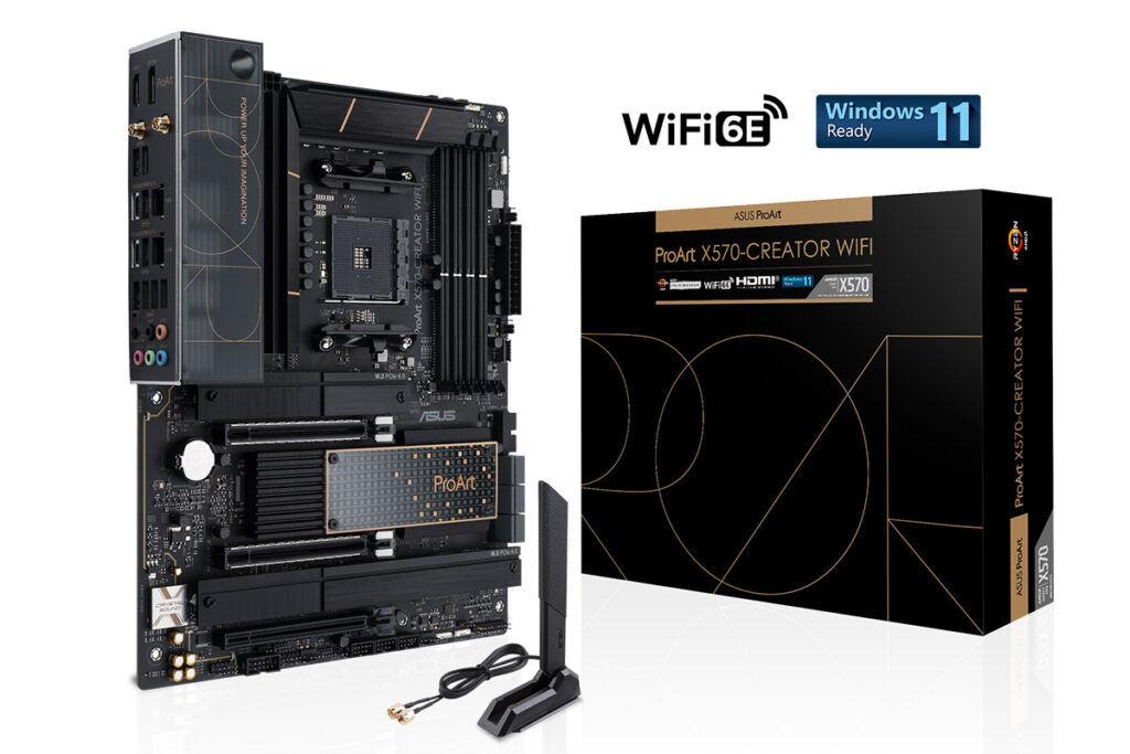 ASUS ProArt x570-creator wifi box
