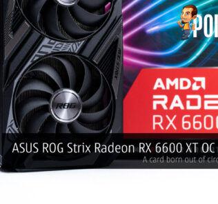 ASUS ROG Strix Radeon RX 6600 XT Review cover