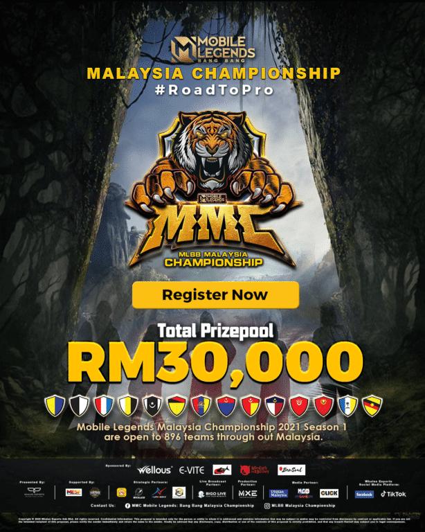 Bigo Live Mobile Legends Malaysia Championship
