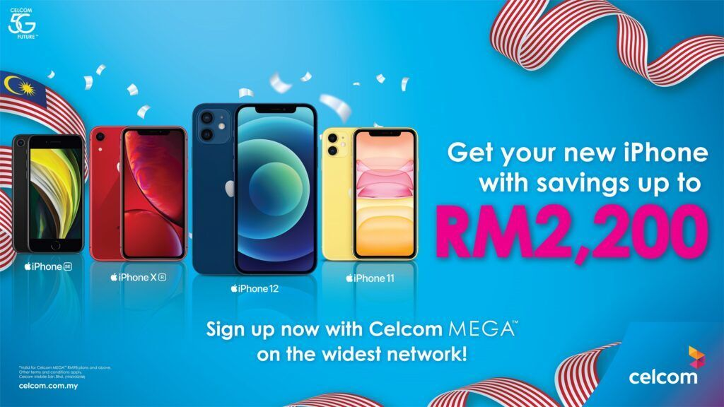Celcom Offers Great Deals And Savings This Merdeka 29