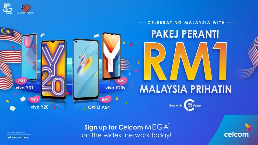 Celcom Offers Great Deals And Savings This Merdeka 30