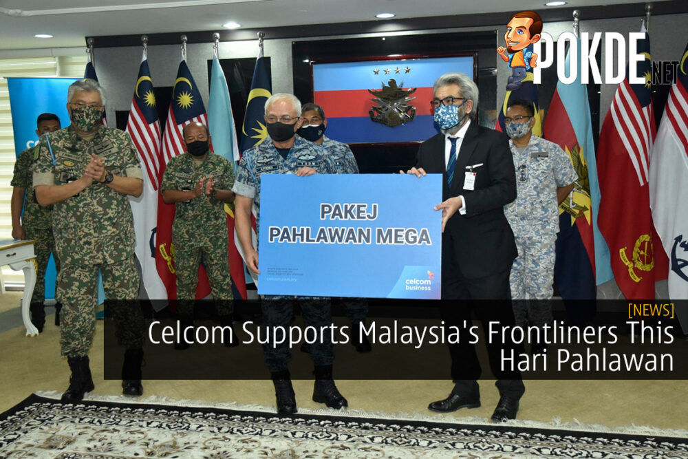 Celcom Supports Malaysia's Frontliners This Hari Pahlawan 20