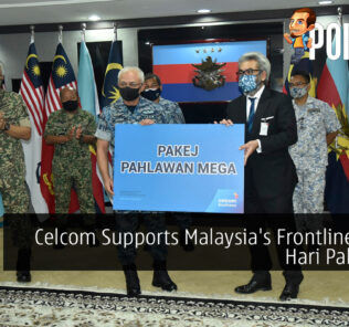 Celcom Supports Malaysia's Frontliners This Hari Pahlawan 31