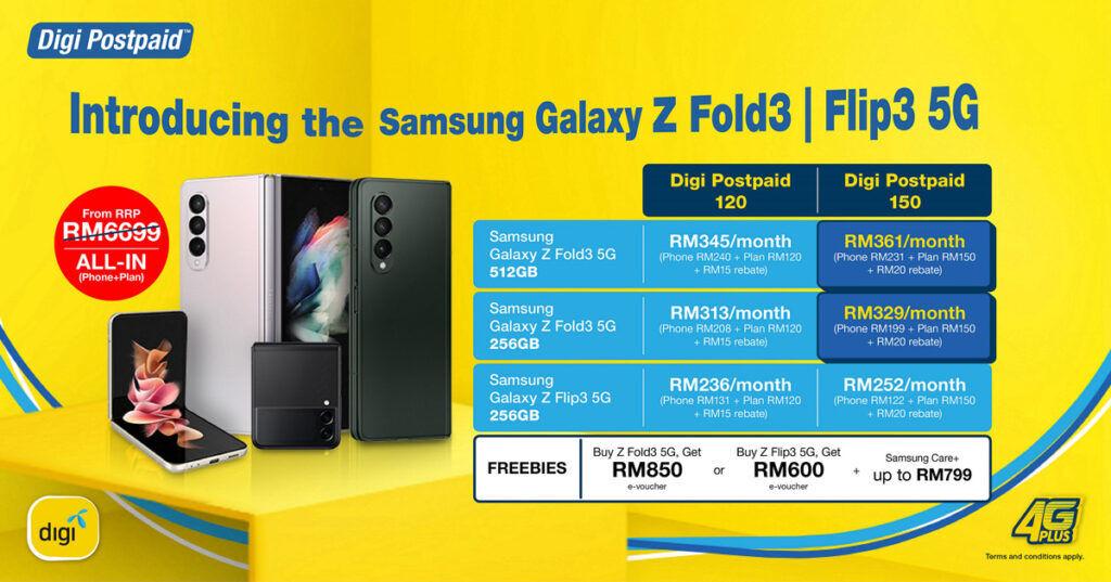 Digi PhoneFreedom 365 Samsung Galaxy Z Fold3