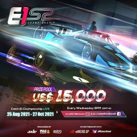 eGG Network and Axle Sports' E1 Championship's New Season Registrations Starts Today 20