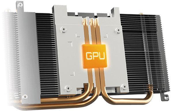 GIGABYTE Radeon RX 6600 XT Gaming OC cooling system