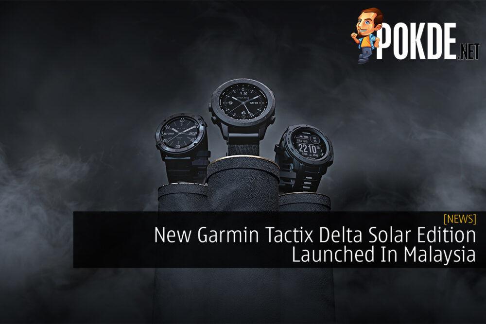 Garmin Tactix Delta Solar Edition cover