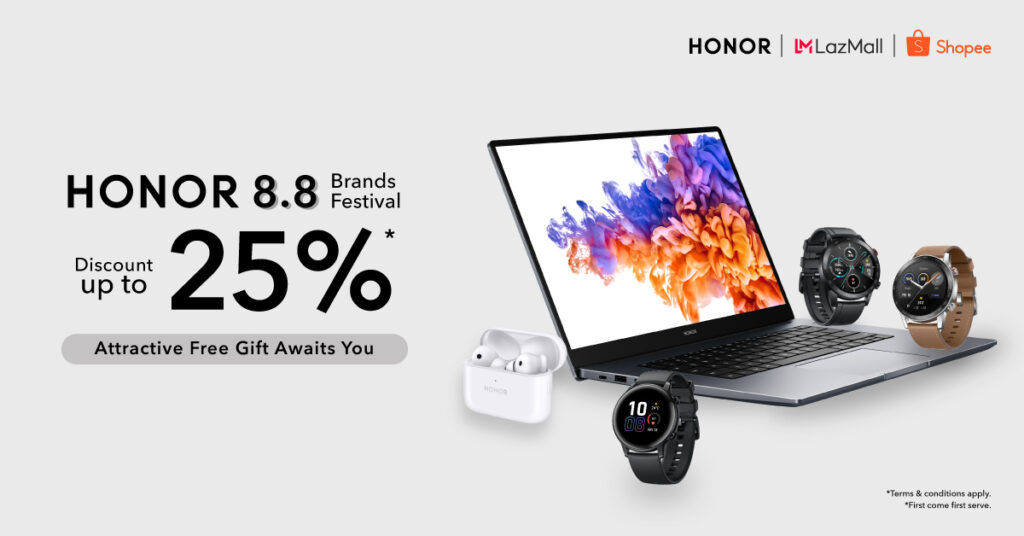 HONOR Malaysia Offers Discounts Up To 25% This 8.8 Sale 21