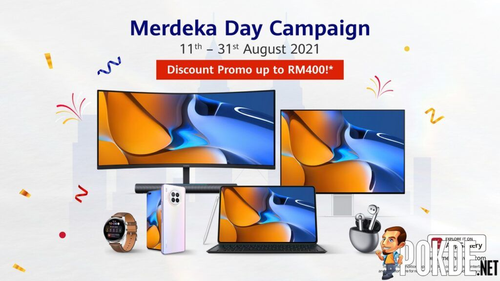Get Discounts Of Up To RM400 During The HUAWEI Merdeka Day Campaign 21