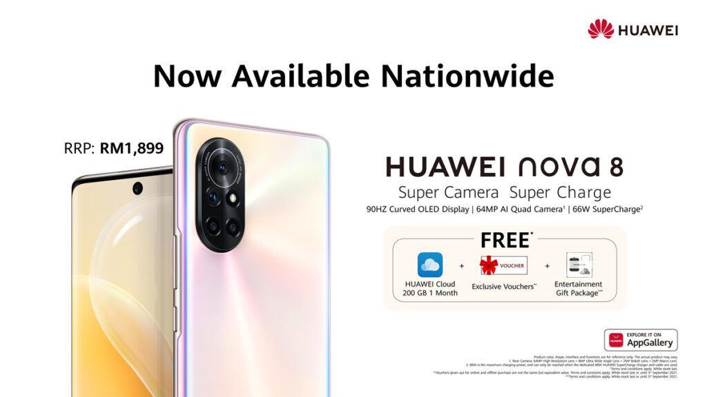 HUAWEI nova 8 Malaysia launch