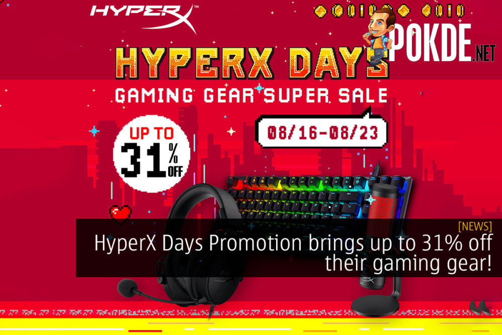 HyperX Days Promotion gaming gear lazada cover
