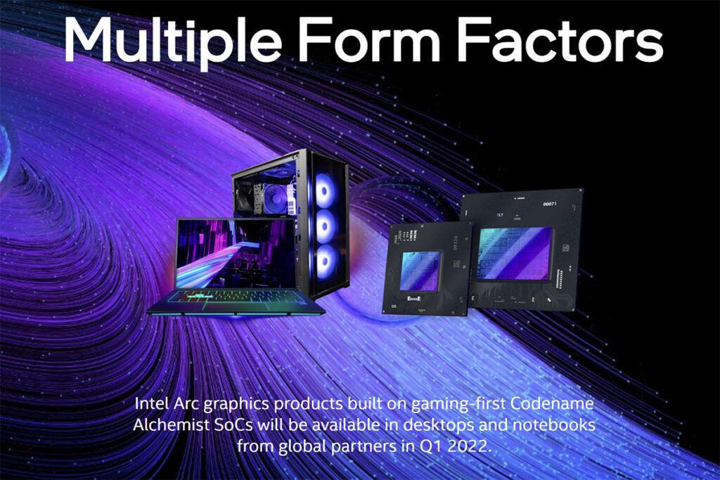 Intel Arc desktop laptop