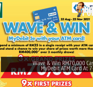 MyDebit Je with Your ATM Card 'WAVE & WIN' Contest 7-eleven cover 2