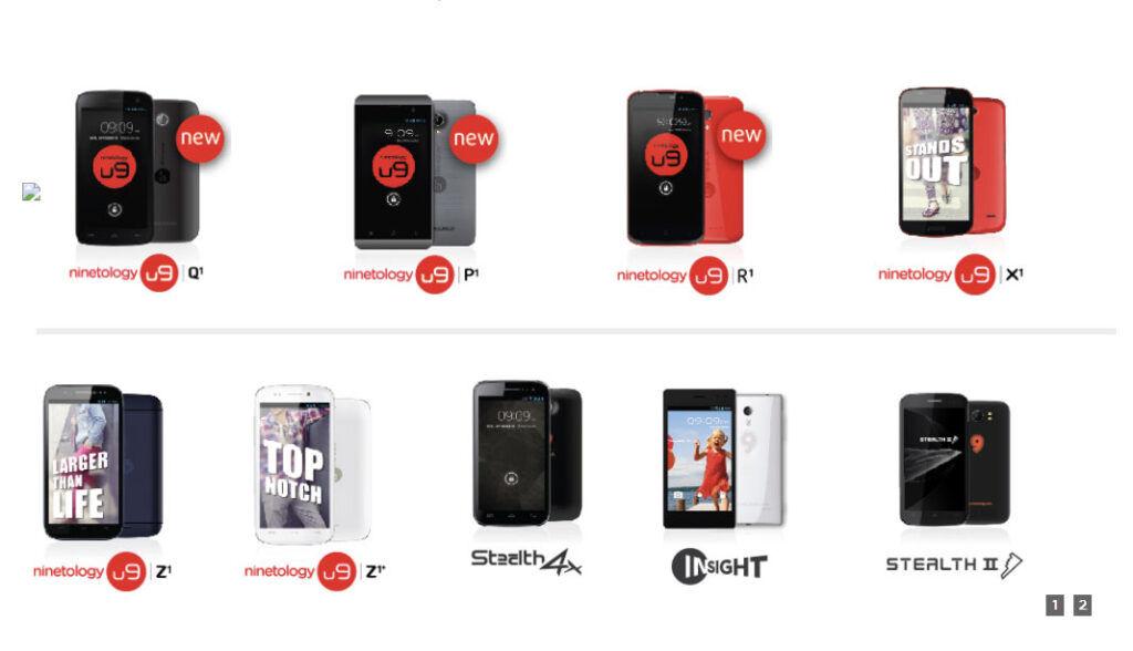Ninetology smartphone series