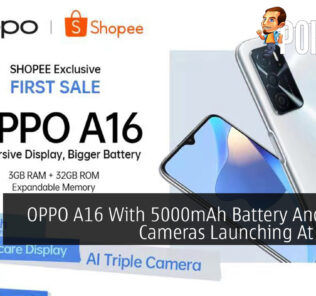 OPPO A16 With 5000mAh Battery And Triple Cameras Launching At RM529 49